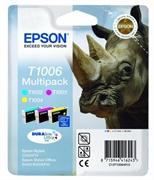 Komplet tinta Epson T1006 (C/M/Y), original