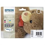 Komplet tinta Epson T0615 (BK/C/M/Y), original