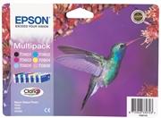 Komplet tinta Epson T0807 (BK/C/M/Y/LM/LC), original