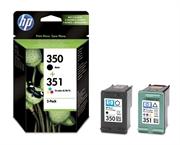 Komplet tinta HP SD412EE (nr.350 BK + nr.351 CMY), original