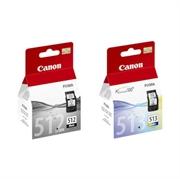 Komplet tinta Canon PG-512 + CL-513, original