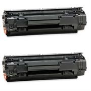 Toner za HP CE285A (crna), dvostruko pakiranje, zamjenski