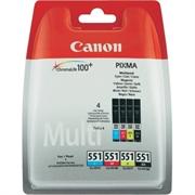 Komplet tinta Canon CLI-551 (BK/C/M/Y), original