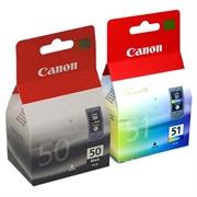 Komplet tinta Canon PG-50 + CL-51, original