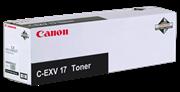 Toner Canon C-EXV 17 BK (0262B002AA) (crna), original