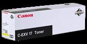 Toner Canon C-EXV 17 Y (0259B002AA) (žuta), original