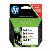Komplet tinta HP SD534EE nr.364 (crna, plava, ljubičasta, žuta), original | oštećena ambalaža