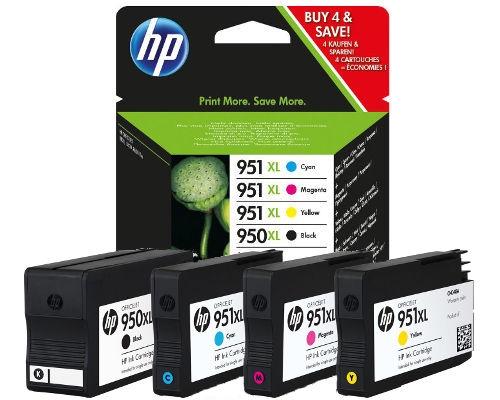 Komplet tinta HP C2P43AE nr.950/951XL (BK/C/M/Y), original