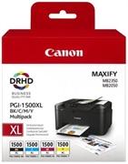 Komplet tinta Canon PGI-1500XL (BK/C/M/Y), original