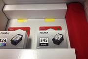 Komplet tinta Canon PG-545 + CL-546, original + fotokopirni papir + POKLON