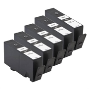 Komplet tinta za HP CZ109AE nr.655 (crna), 5 komada, zamjenski
