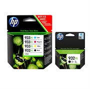 Komplet tinta HP C2P42AE nr.932/933XL (BK/C/M/Y) + nr.932XL, original